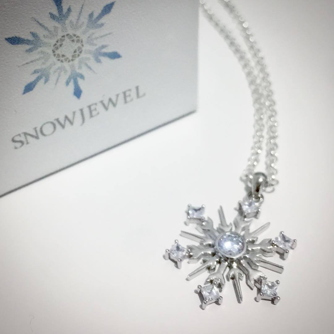 Sterling Silver Snowflake Necklace -23/002