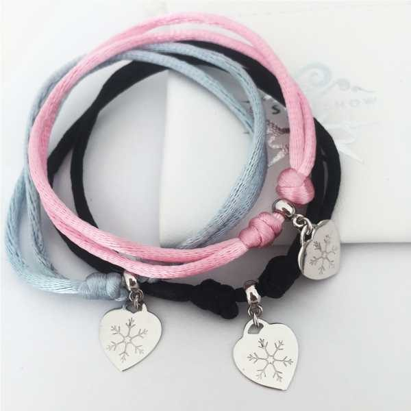 Snowflake Bracelet with Charm