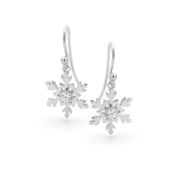 Snowflake Necklace in Sterling Silver 3