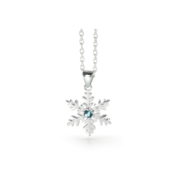 Snowflake Necklace for a Snow Goddess 1